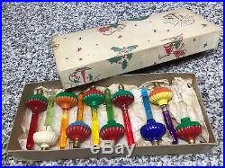 (10) Vintage Original WORKING Noma Christmas Tree Bubble Lights Lot