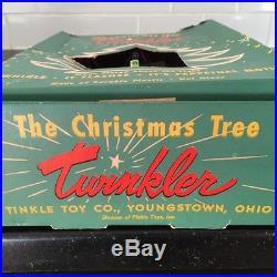 12 Vintage Christmas Tree Twinkler Birdcage Spinner Ornaments Twinklers Spinners