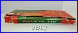 1940's Vintage Bubble Lights Set # 509 Christmas Tree Lights with Box Working