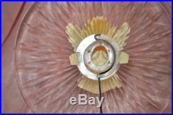 1950s Vtg Xmas Tree Topper Ge Merry Midget Lucite N Celluloid Angel For Light