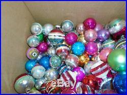 200 Vintage Shiny Brite Poland Christmas Tree Blown Glass Ornaments