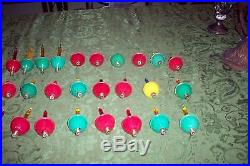 27 Vintage Christmas Tree Bubble Lights-tested & Working GREAT CONDITION