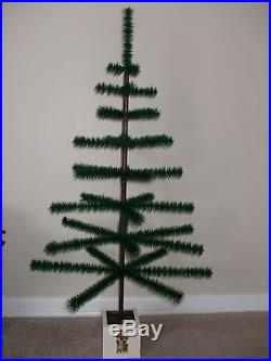 48 Vintage Real Goose Feather Christmas Tree! Made In USA