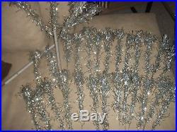 50's Vintage 3.5 ft. ALUMINUM Christmas Tree 31 Smaller POM POM tip Branches