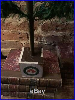 Antique Vintage 39 Goose Feather Christmas Tree