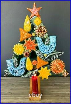Arklow Studio Pottery John Ffrench Tree of Peace Christmas Tree VTG 60's