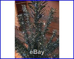 Astralite Vintage 48 Inch Blue & Green Vinyl Aluminum Christmas Tree in Box