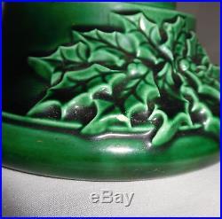 Atlantic Mold Ceramic Christmas Tree Music Box 16 Vintage Works No Lights