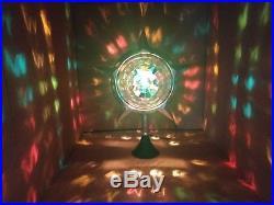 BOXED Bradford Celestial Light Star Spinner Vintage ChristmasTree Topper Motion