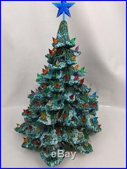 Ceramic Christmas Tree Vintage Scioto 1979