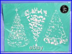 Chalk Couture VINTAGE CHRISTMAS TREE transfer 18 x 24