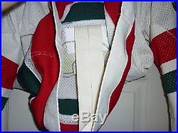 EXCELLENT VINTAGE MID 80s NHL NEW JERSEY DEVILS RETRO XMAS TREE MULLER #9 JERSEY