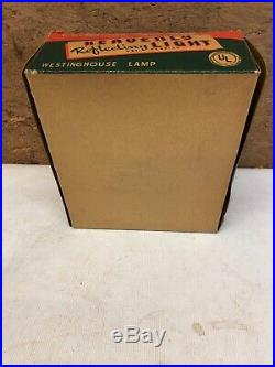 Early Vintage Heavenly Reflecting Light Christmas Tree Top With Box
