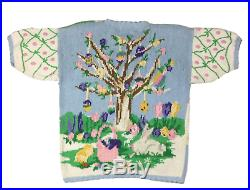 Egg Tree The Eagle's Eye Vintage Sweater Size S