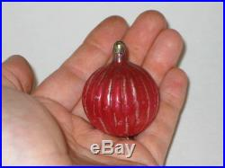 German Antique Glass Figural Feather Tree Vintage Christmas Ornament 1800's
