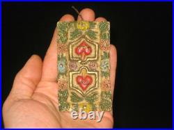 German Antique Victorian Wax Christmas Ornament Vintage Decoration 1800's