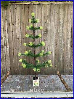 Goose Feather Christmas Tree 35 Inches Tall Vintage Style