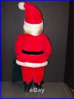 Harold Gale Santa Vintage 7 Up Doll Store Display Christmas Tree Ornament New
