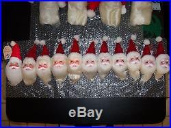 Harold Gale Santa Vintage Doll Store Display Christmas Tree Holiday Ornaments 15