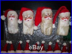 Harold Gale Santa Vintage Doll Store Display Christmas Tree Holiday Ornaments 16