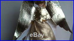 LARGE Wax ANGEL TREE TOPPER Christmas Vintage 12 GERMANY Christina Biedermann