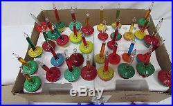 Lot of 25 Vintage Christmas Tree Bubble Liquid Lights Bulbs