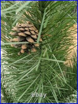 MCM Revlis Starlite Christmas Tree 6' Green Model V Pine 61 With Pole VINTAGE