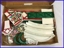 Mickeys Ski Slope Set By Mr. Christmas 1993 Vintage Disney Tree Electric Lift