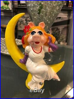 Miss Piggy Vintage Jim Hensons Muppet's Christmas Tree Topper Ornaments Disney