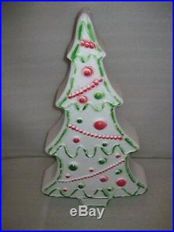 NEW Vintage HTF 28 Don Featherstone Gingerbread Christmas Tree Blow Mold