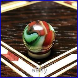 PELTIER NLR CHRISTMAS TREE with AVENTURINE MINT 9/16 Vintage Marbles