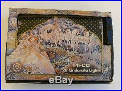 Pifco Vintage 20 Cinderella Carriage Christmas Lights Boxed And Working