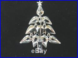 Prettiest Vintage Authentic Swarovski Retired Christmas Tree Pin
