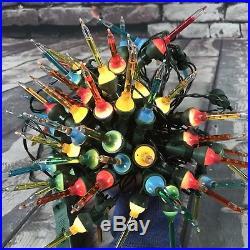RARE Vintage Bubble Lights Lot of 6 Strands Christmas Tree 10 per Strand