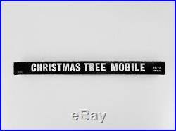 RARE Vtg Mid Century Modern Otagiri Japan Christmas Tree Mobile 16 / 70
