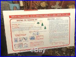 Rare New In Box 1960s NOMA Christmas Tree Lights Vintage Liquid Bubble Indoor