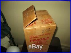 Rare Vintage 1952 Econolite Christmas Tree Motion Lamp Nice Retro Lamp White