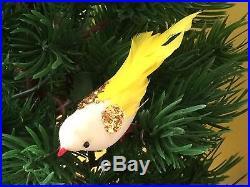 Rare Vintage Working Noma 4 Singing Birds 20 Lights Christmas Tree