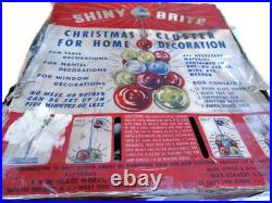 Shiny Brite Christmas Cluster Tree, Vintage Holiday Centerpiece