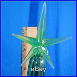 Tall 33 Inch Vintage Ceramic Christmas Tree Gumball Lights 3 Piece Atlantic Mold
