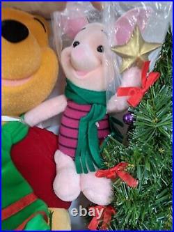 Telco Winnie the Pooh piglet tree light up NEW animated rare vintage Xmas decor
