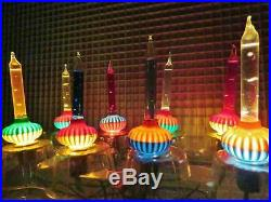 vintage c6 noma biscuit bubble light christmas tree series bubbling candle light - Bubble Lights Christmas Tree