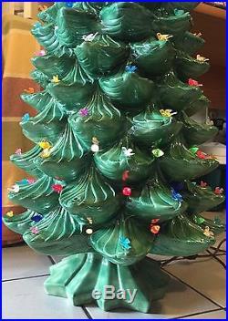 Vintage Ceramic Christmas Trees