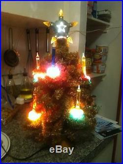 Vintage Christmas Bubble Light Noma Tree