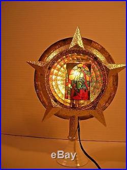 Vintage Christmas Decoration Celestial Light Tree Topper Bradford