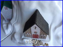 VINTAGE E. Z. CHRISTMAS BLOW MOLD CHRISTMAS MOUNTAIN TREE STAND COVER WithTRAIN