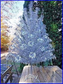 Vintage Christmas Tree Color Wheel