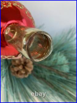 VTG 14 Tree Topper Mercury Glass Made In Germany