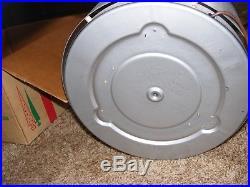 VTG Evergleam Tri Lite Rotating Color Wheel Aluminum Christmas Tree Stand withBox