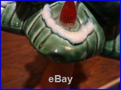 VTG The Holiday Tree Kentucky Bourbon Wiskey Decanter Music Box Christmas Mold